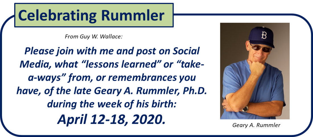 Celebrating Rummler 2020 2